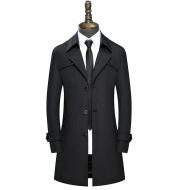 Slim handsome coat trench coat