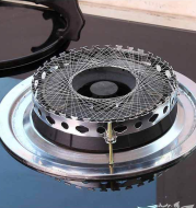 Stainless steel round gas stove special gathering fire reflection ring