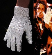 Classic crystal white gloves