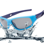 Silica gel riding sunglasses Outdoor boys and girls sunglasses Children's polarizing Sports Sunglasses