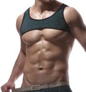Muscle Vest Crop Top (Multiple Colors)