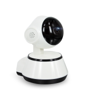 Wireless surveillance camera has a card reader wifi home phone wide-angle panorama 1 million pixels