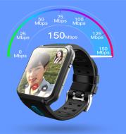 Fully waterproof smart phone watch