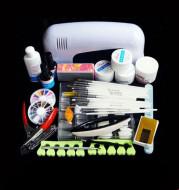 Nail Phototherapy Set Nail Tools 21 Piece Set