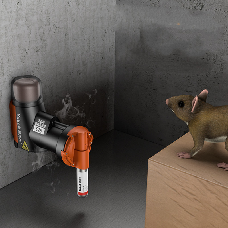 Automatic intelligent mouse killer in action