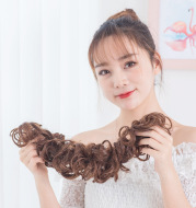Natural Hair Chignon Synthetic Donut Hair