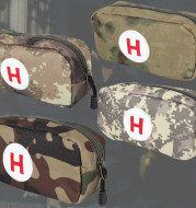 Camouflage first aid bag