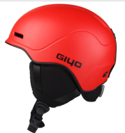 GIYO skiing helmet, male and female professional skiing equipment for warm and breathable Snow Helmet single board helmet armor