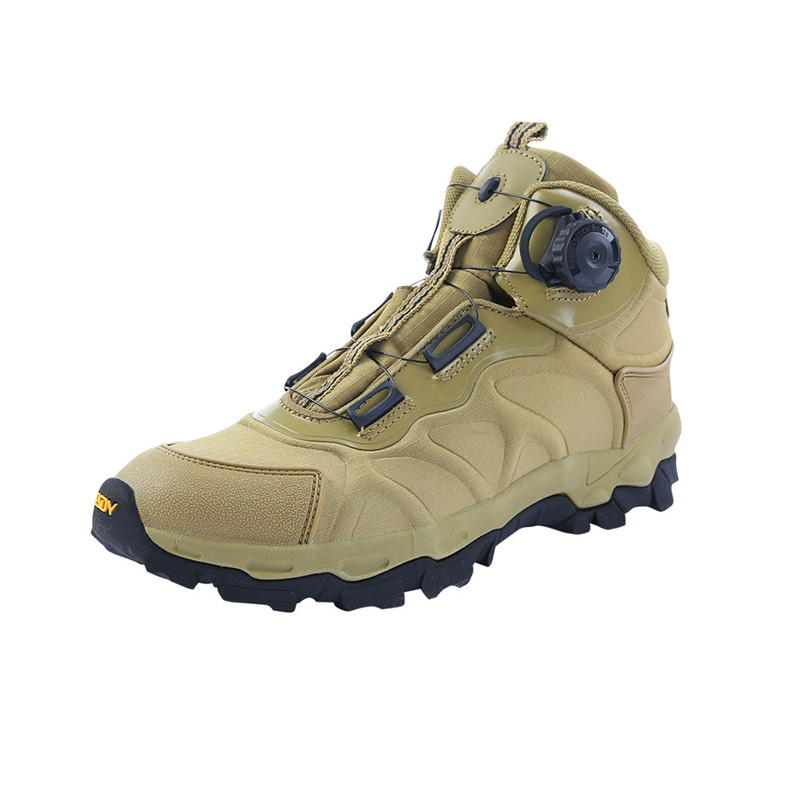 16631616824690 Automatic buckle lacing hiking shoes