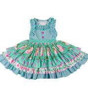 Rose dress for children
