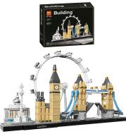 London Big Ben Tower Bridge Model Bricks Toy