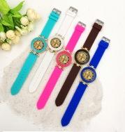 Silicone quartz watch