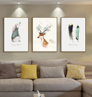 Customized Home Canvas Painting