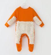 Baby crawl suit baby mop suit