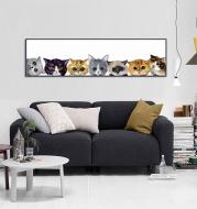 DIY Custom Home Canvas Wall Painting