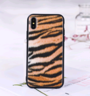 Applicable to iphoneX, iphoneXS MAX mobile phone shell two in one fashion leopard mobile phone case