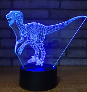 Electronic products led creative gift table lamp plug-in cartoon 3d night light bedroom atmosphere lamp