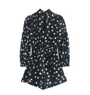 Dot short jumpsuit
