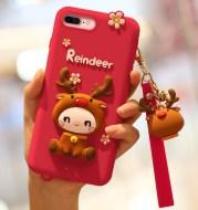 Cute elk phone case