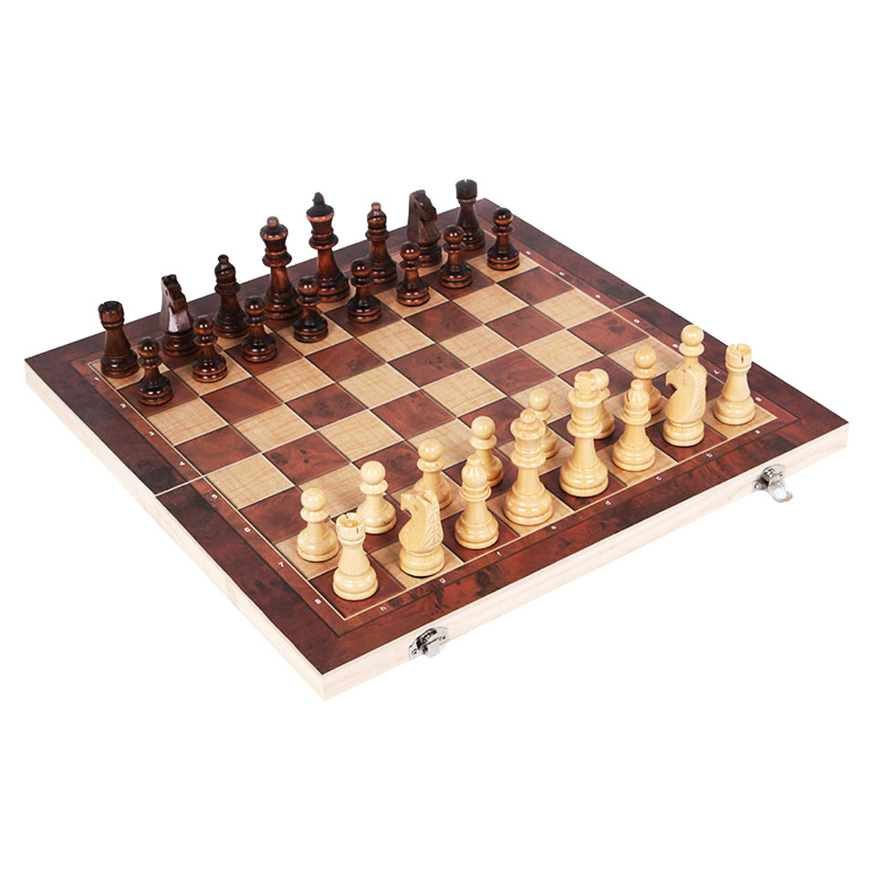 Wooden Chess Game field