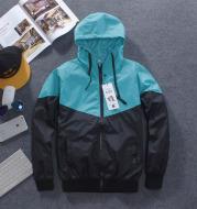 Fluorescent Night Running Hooded Jacket