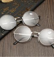Zilead Retro Round Reading Women Men Glasses Metal Presbyopic Glasses Myopic Lens Eyewear Glasses