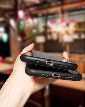 Imagen ajuste parte inferior carcasa Iphone Maneki neko