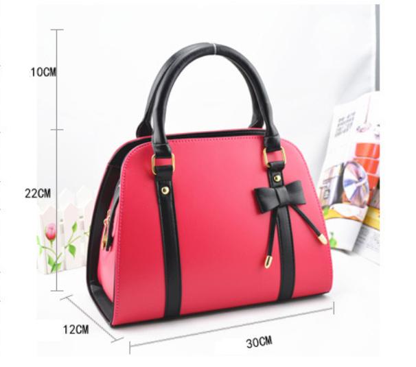 Womens Fashion Handbag With Bow 10
