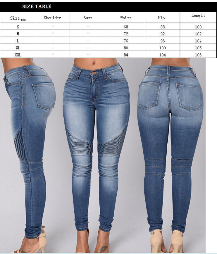 Jeans Size chart