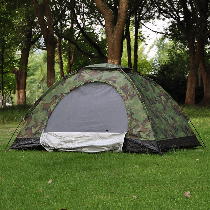 Double Camouflage Tent, 2 people leisure tent, outdoor camping tent, camping tent 20