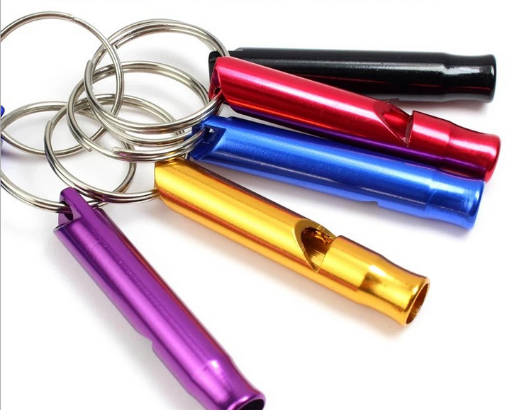 different type of Aluminum Whistle