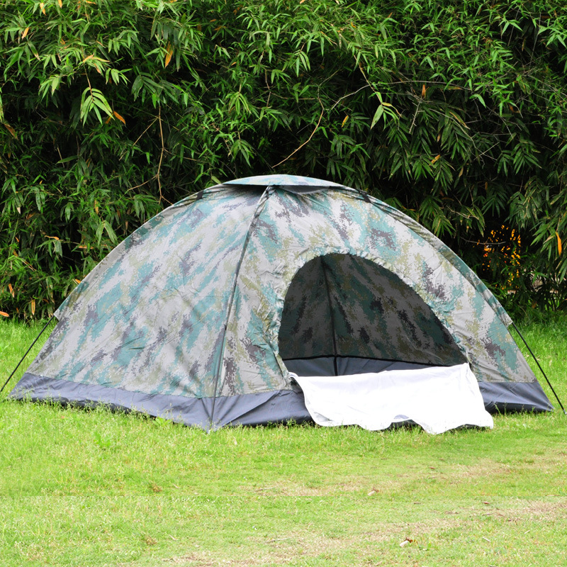 Double Camouflage Tent, 2 people leisure tent, outdoor camping tent, camping tent 19