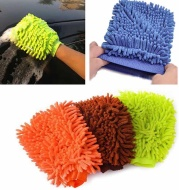 Microfiber Car Cleaning Clay BarCar Detailing Chenille Glove Mitt Ultrafine Microfiber Household Auto Care Washing Cloth