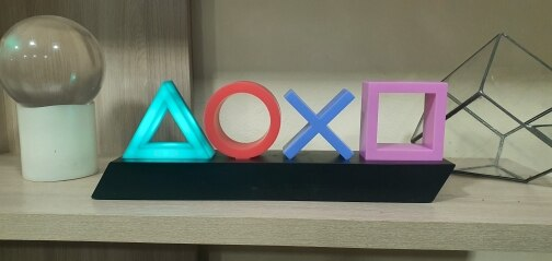 Playstation Icons LED Lamp