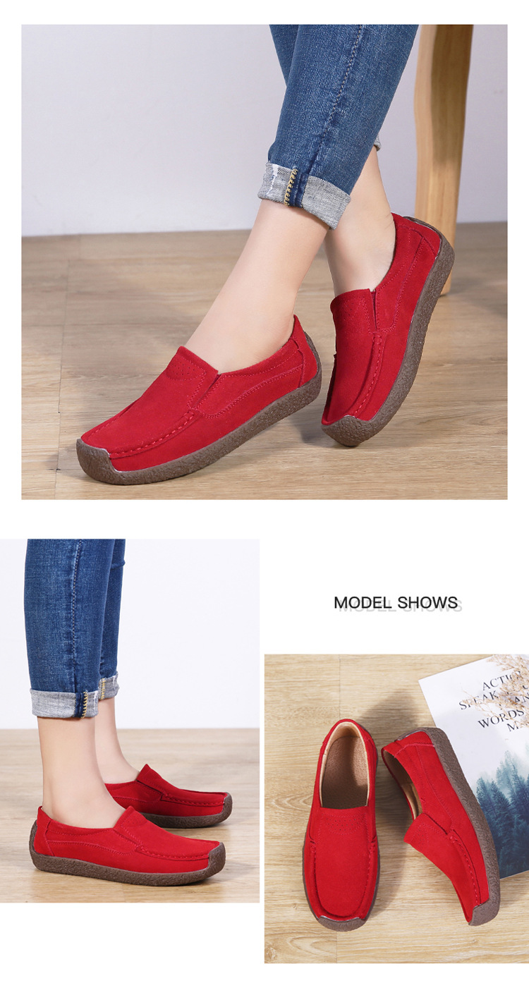 casual flat loafers style