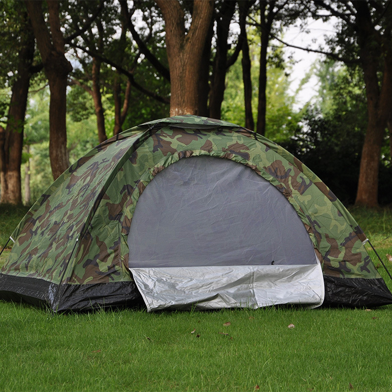 Double Camouflage Tent, 2 people leisure tent, outdoor camping tent, camping tent 18