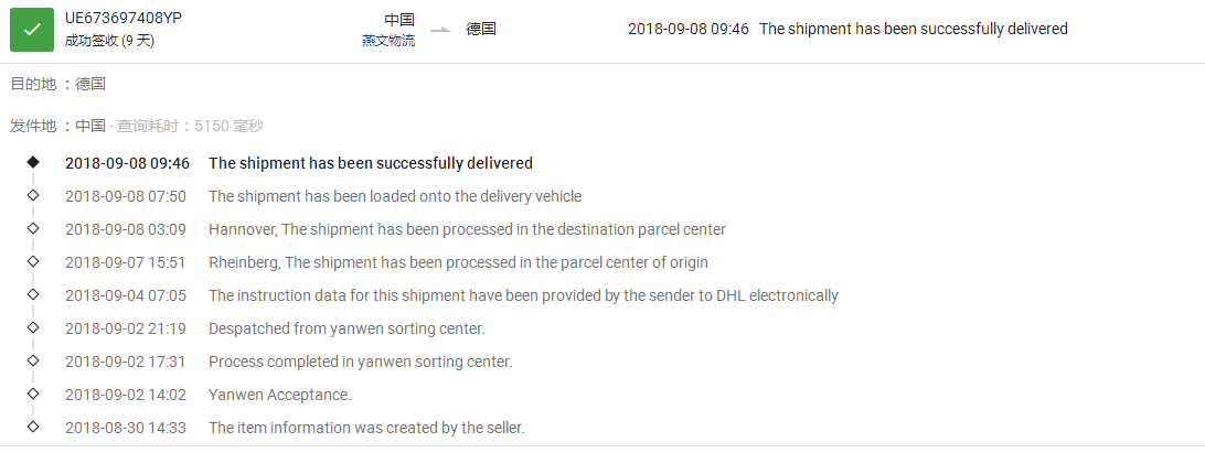 * A note on Yanwen's shipping method, its dropshipping delivery time is usually faster than epacket and the price is very comparable to epacket, especially to UK and popular European countries